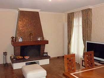 Mur et plafond d cors et maison for Enduit rustique interieur